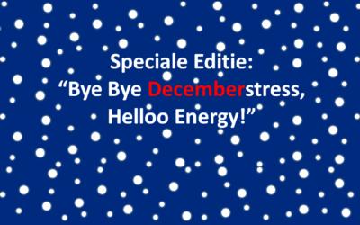 De feestdagen staan voor de deur! Zin in of stressvol?